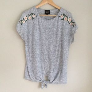 W5 embroidered knitted top Large